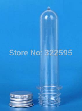 20ml fashionable Test Tube With Aluminum Screw Cap Pet Tube Packaging(China (Mainland))