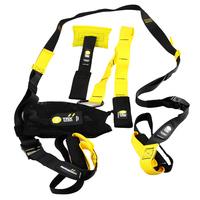 2014 Fitness Body Building Yoga Resistance Bands Training Equipment Crossfit Spring Exerciser Hanging Belt Resistance Belt Set