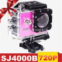 In Stock!original 720P HD SJ4000 Action Camera Diving Waterproof Camera Helmet Camera Underwater Sport Cameras Sport DV Gopro