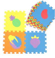 Baby EVA foam play mats crawling mat kids floor mats Children jigsaw puzzle padsVegetables and fruits floor pads