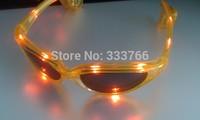 Free Shipping 10pcs/lot LED Glasses Laser Flashing Glasses Light Party Glow Mask Christmas Gift