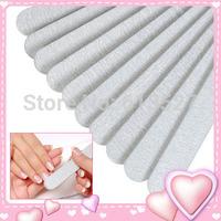 2014 Hot Free Shipping 10pcs/lot 100/180 Acrylic UV Gel Curved Mail Nail File Buffer Buffing Manicure Set