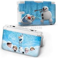 2014 New Cartoon Frozen snowman Protective Hard Case Cover Skin For Nintendo DSI XL