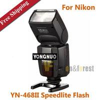 Yongnuo TTL Flash Speedlite YN-468II Camera Flash Light for Nikon D600 D700 D5000 D5100 D90 D80 D70s D60 D40x FREE SHIPPING