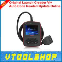 [5pcs/lot] Top 2014 New Auto Code Reader Launch CReader VI+ Support JOBD / OBD2 100% Original CReader VI Plus version +DHL Free