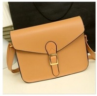 2014 European and American retro messenger bag handbag College Wind Star Shoulder Messenger bag briefcase with money