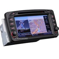 "2DIN 7"" Car DVD GPS SAT NAV For Mercedes Benz C-W203 CLK-W209 W163 W168 Viano Vito W639 Head Unit 3G WiFi Radio BT CanBus 1080P"