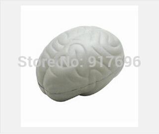 New free shipping promotion creative product brain Stress Ball customed logo(China (Mainland))