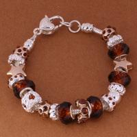 925 Sterling Silver Bracelet Snake Chain Screw European Silver Charms Beads  /ggnaoxua gtzaplga PH009