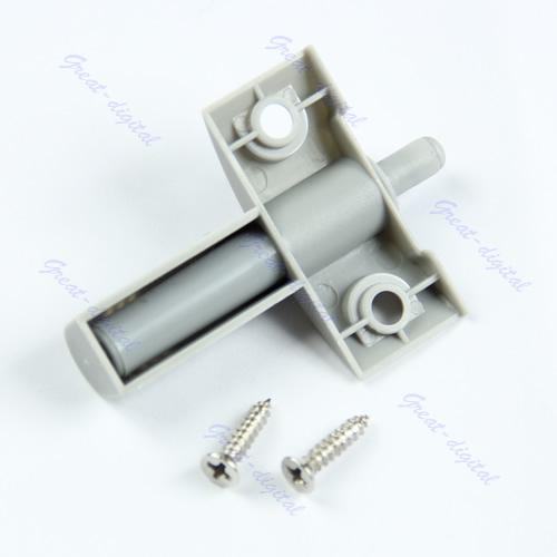 10pcs/lot Gray Kitchen Cabinet Door Drawer Soft Quiet Close Closer Damper Buffers + Screws Free Shipping(China (Mainland))