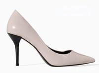 2015 NEW shoes woman Fashion Patent Leather Elegant Famous brand Pumps,SIZE 35-40