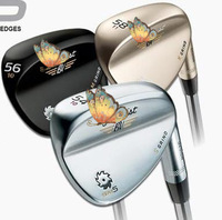Hot 2014 new golf clubs Vokey Design SM5 golf wedges champagne color 52/54/56/58/60 degree 3pcs/lot golf clubs wedge set