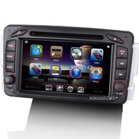 "2DIN 7"" Head Unit Car Stereo DVD GPS For Mercedes Benz W163 C-W203 CLK-W209 W168 Viano Vito W639 3G WiFi Radio BT CanBus 1080P"