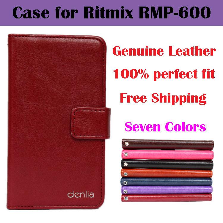 Телефон чехол для Ritmix RMP-600 натуральная кожа, роскошь , посвященный откидной чехол чехол реальной кожи с карта держатель семь цветов roland rmp 5a