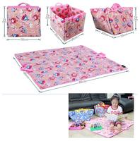 Toy storage box baby basket child crawling mat game pad