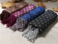 2015 New high quality Brand cotton Scarf Thicker and warm Dot fashion shawls and scarves Free shipping