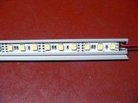non-waterproof 5050 SMD LED Rigid strip light with aluminum housing;30pcs led;0.5m long;R/G/B/Y/W/WW color(please advise)