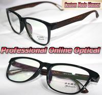 The nature of the fashion wood legs Optical Custom made optical lenses Reading glasses +1 +1.5 +2+2.5 +3 +3.5 +4 +4.5 +5 +5.5+6