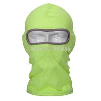 Green Balaclava Polyester Balaclava Scarf Half Face Mask Paintball  Walking Full Face Neck Guard Masks Riding Hiking