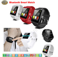 New Smart Bluetooth Watch U8 Wristwatch Sync Android OS Handsfree Smartwatch For iPhone Samsung Galaxy S5 Note HTC LG