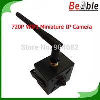 HD Mini IP Camera 720P 1.0 MegaPixel P2P mobile view WiFi Pinhole IP Camera lens Hidden Network Camera