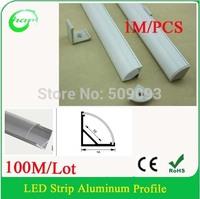100M/Lot V Shape 1616 Newest LED bar light housing -led profile aluminum corner led light for wall