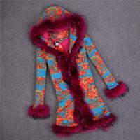 Raccoon Dog Fur Real Fur Coats For Women Fur Coat Casacos Femininos MEX Abrigos Mujer Winter Coat Women Love Couture By Lourdes