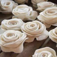 felt handmade flower sets,felt craft
