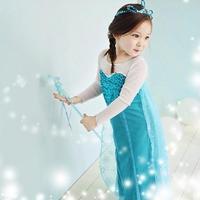 Free shipping 2015 new Hot Girl Frozen Dress Elsa & Anna Summer Dress Kid Princess Dresses Children Clothing Kids Wear in stock