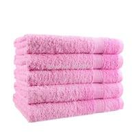 100% Cotton Towel Solid Plain Dyed Quick-Dry Face Towels Bath Towel 50cm*80 cm 1 PCS/Lot Free Shipping Woven High Quality