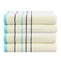 Bamboo Bath Towels 70x140cm 1 PCS/Lot Free Shipping 100% Fiber Family Yarn Dyed Shower Towel Satin Washclothes Beach Towel