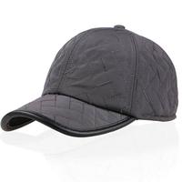 new men's warm winter hat Embroidered baseball cap waterproof Outdoor cap Casual ear cap
