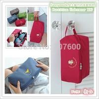 2014 Travel new design Women underwear handbag waterproof nylon storage bag bra underwear partition large capacity storage bag