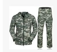 Men's Jackets Jackets tad sharkskin suit coat jacket waterproof windproof men military uniform jacket and pants free shipping