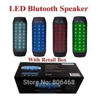 Mini Portable LED Bluetooth Speaker BT 3.0 Support TF Card FM Radio Handsfree outdoor bicycle bluetooth speaker