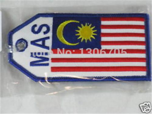 Malaysia MAS Flag Airlines Travel Luggage Tag(China (Mainland))
