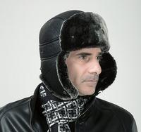 Free shipping Santo Men Women Outdoor Winter Ear Skiing Hat Thermal Cap Bomber Hats mink hats for men