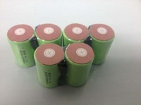 free   shipping    12pcs/lot 10C discharge rate 2000mAh 4/5 SubC 4/5 SC NI-MH NIMH rechargeable cell with solder tags