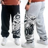Eminem 2014 Winter Men's Elastic Waist Outdoor Printed Sweatpants Loose Hip hop Brand Harem Street Dance Trousers for Man FS3435