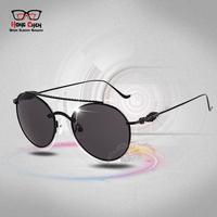 Mens Womens Womens Sunglasses Brand Designer Round Metal Sun Glasses  night driving glasses  oculos gafas de sol  Sunglass