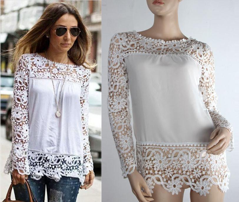 Ажурные Блузки Купить
