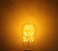 E27 LED Bulb 3W Warm White 110V/220V ST64 Edison Style Light Bulb Globe Retro Edison Light Bulb 220-240V Decoration Style