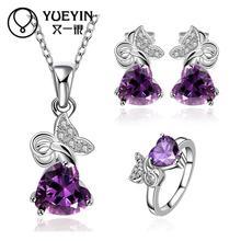 FVRS036 2015 new fine jewelry sets Extravagant Party jewlery set for lady Fashion Big Crystal set
