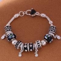 925 Sterling Silver Bracelet Snake Chain Screw European Silver Charms Beads  /gghaoxoa gttaplaa PH003