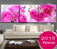 2015 New Frameless Diy digital painting by numbers canvas oil painting home decoration unique gift huayang nianhua