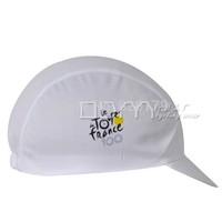 White Tour de france Hood Hat Cycling Cap Team Bike Ride Sportsweart Headgear Hot sale hat cool Bicycle Sportswear