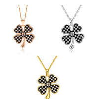 High Quality Gold Plated Four Leaves Pendants Jewelry Set of Bottom Price Best Gifts for Ladies Wholesale