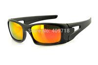 Fashion Sprots Eyeglass Designer Sunglasses Men's/Women's Brand Crankcase OO9165-05 Black Sunglass Fire Iridium Lens Polarized