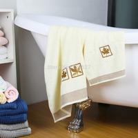 Towel Set Embroidery  Towel:30x50cm;Bath Towel:65x135cm Hand Face Hair Bath 2pcs/lot