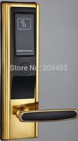 Gold Plating Door Lock System